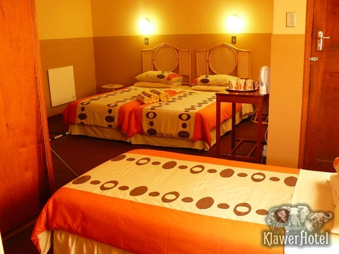 Accommodation, Klawer Hotel